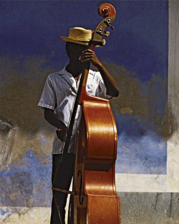Double Bass Player, Cuba