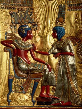 Tutankhamun and Wife