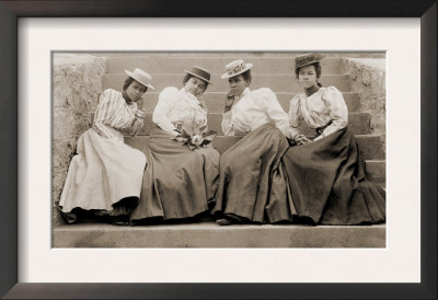 Four African American Women Students