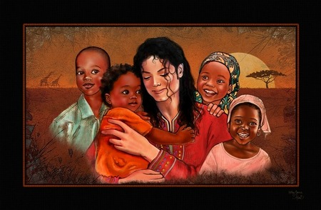 Everland Liberia Plain Border  – Michael Jackson