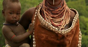 Ethiopian-Tribal-Mother--Child_art