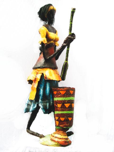 An artistic event in Brazzaville – Republic of Congo