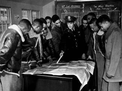 Members of the Famed Tuskegee Airmen