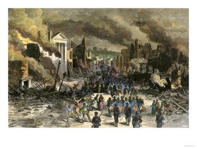 Black Regiment of the Union Army Entering Richmond
