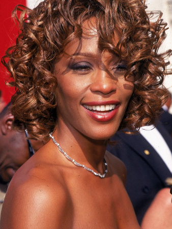 Whitney Houston at 50th Annual Grammy Awards