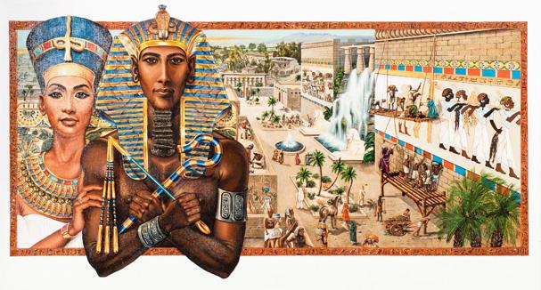 Akhenaton Pharaoh of Egypt